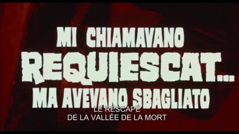 requiem pour un tueur - Mi chiamavano 'Requiescat'... ma avevano sbagliato - 1972 - Mario Bianchi  Vlcsna19