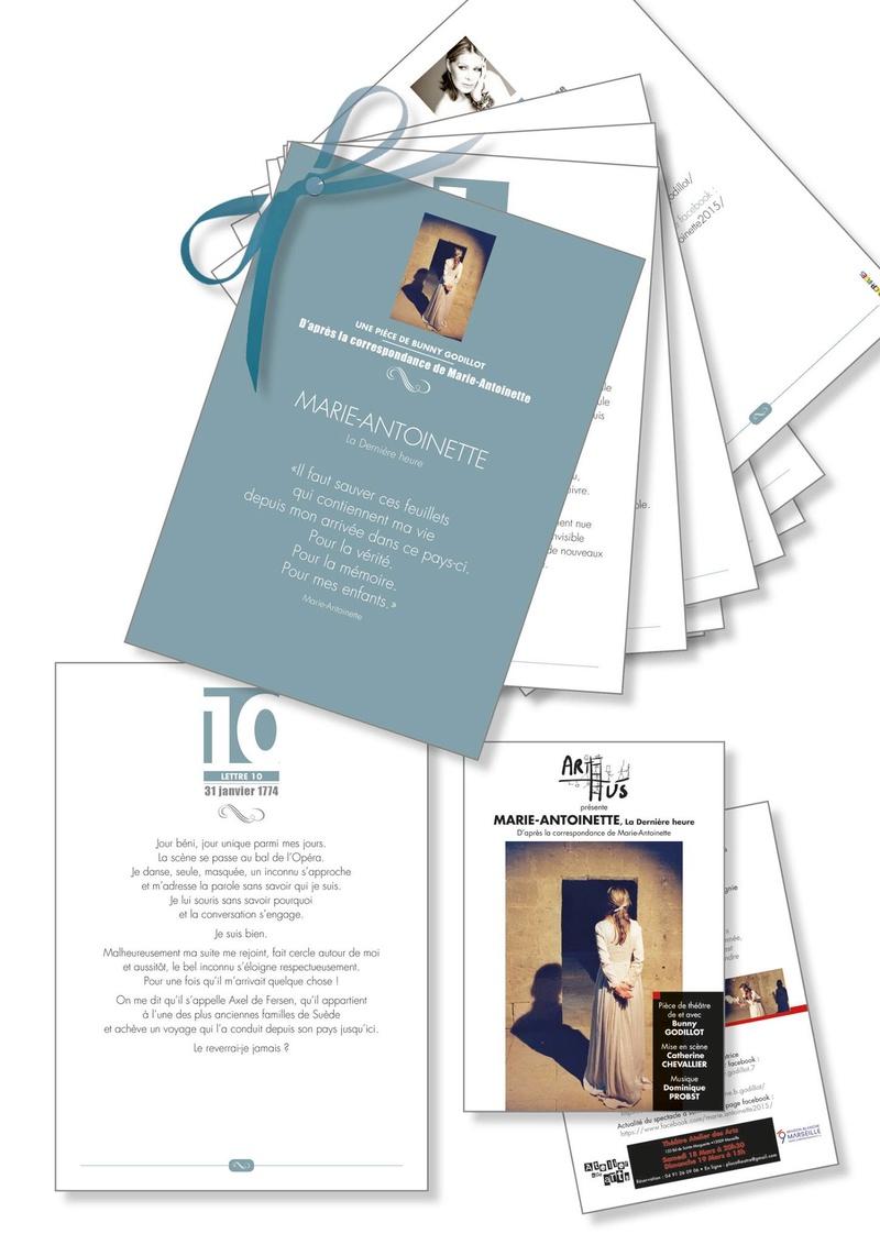 """THÉÂTRE  """"MARIE ANTOINETTE, la dernière heure """" - Page 2 Livret10"""