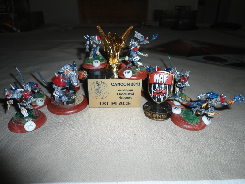 "Le Blood Bowl ""Down Under"" et ""Up Above"" 00911"