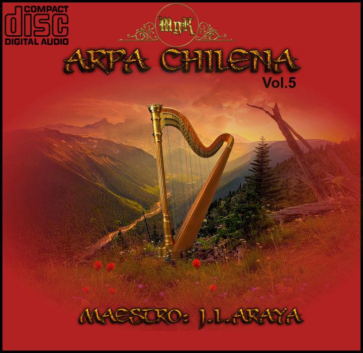 CD  Maestro Josè Luis Araya-arpa canto popular chileno Vol.5 Arpa_v10