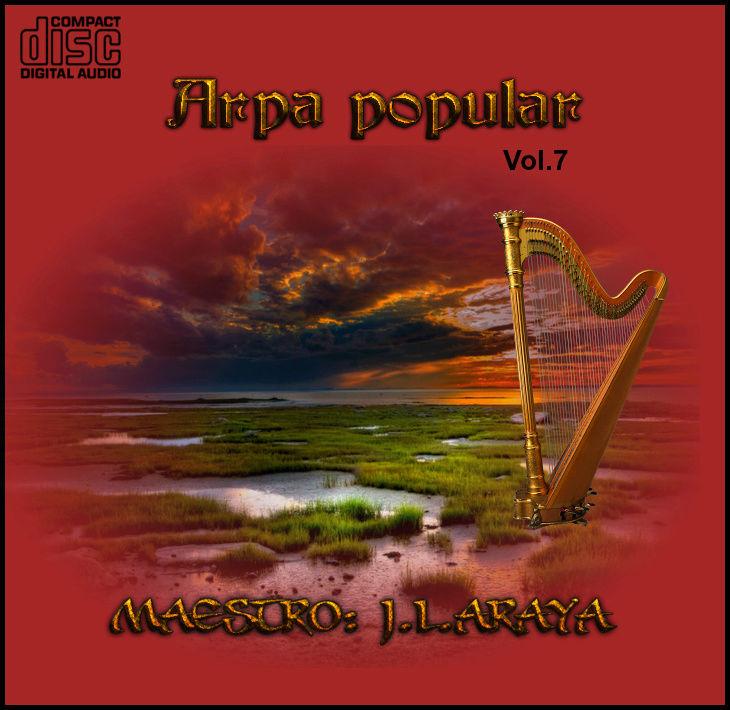 CD  Maestro Josè Luis Araya-arpa popular romàntica vol.7 Del_10