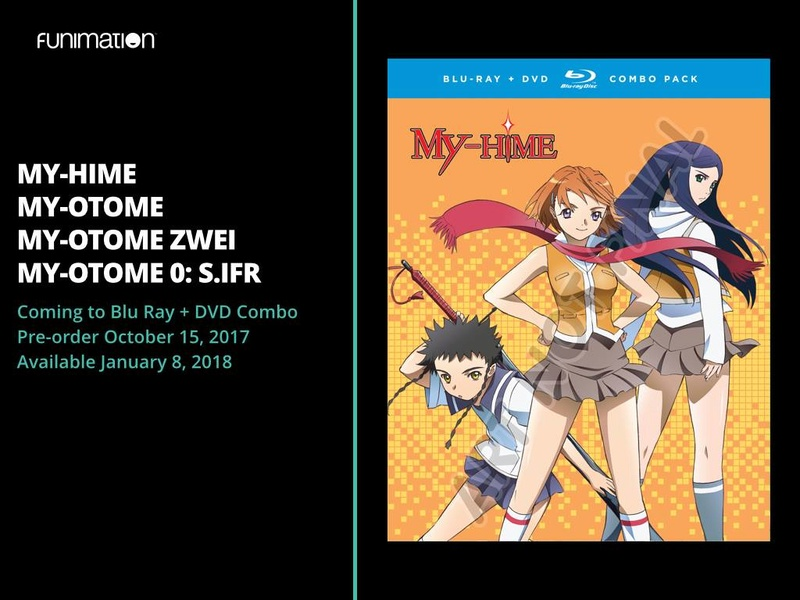 FUNimation announces release date for My-HiME/Otome Blu-Ray collection! (ABOUT TIME!) 22219710