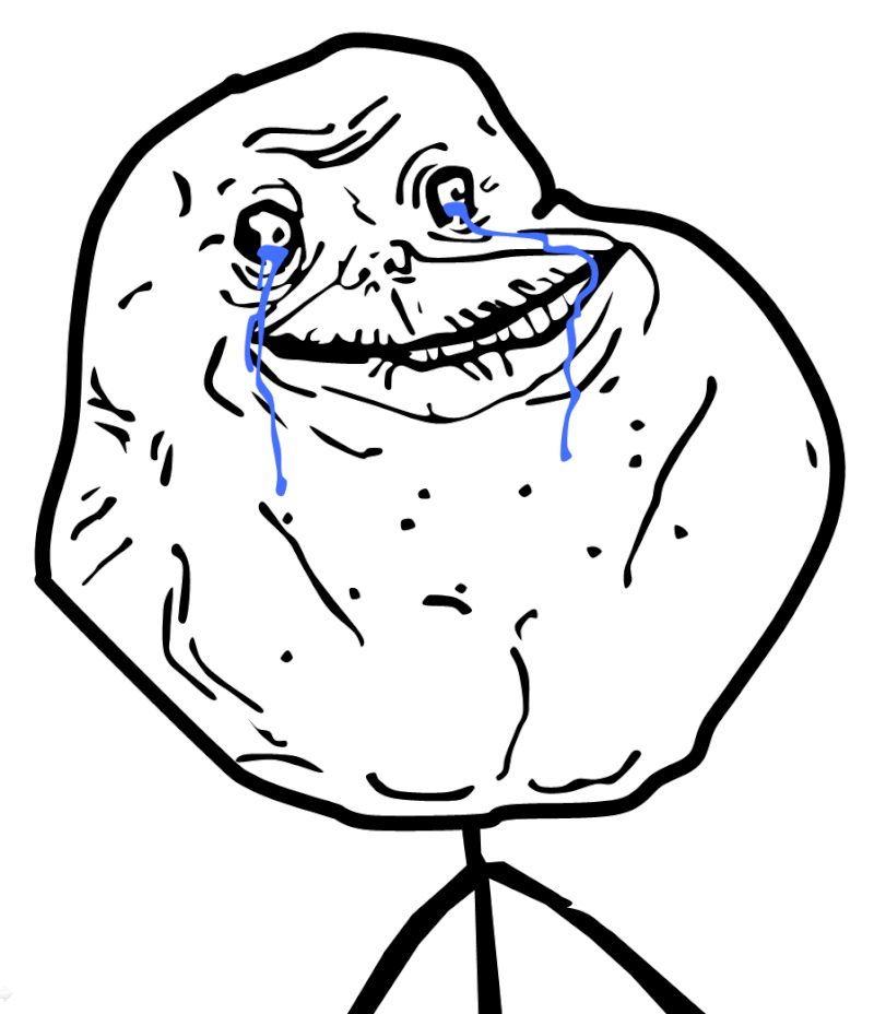 "Are you a ""Forever Alone""? :'3 Foreve10"