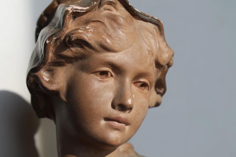 """Citti - Buste de femme en plâtre """"Margueritte"""" Citti Frères Img_1511"""