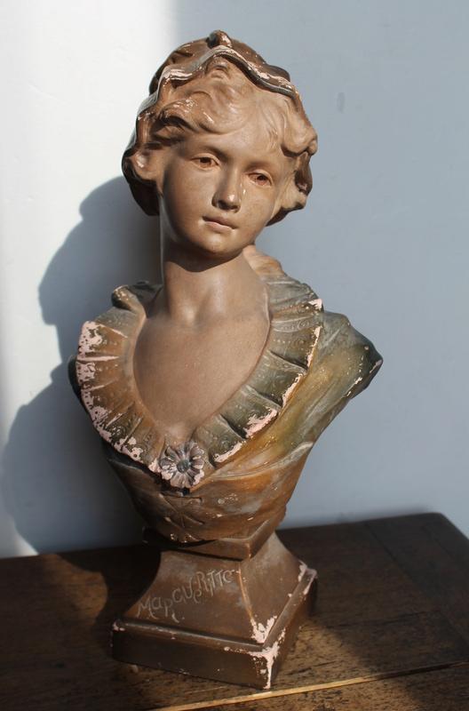 """Citti - Buste de femme en plâtre """"Margueritte"""" Citti Frères Img_1512"""