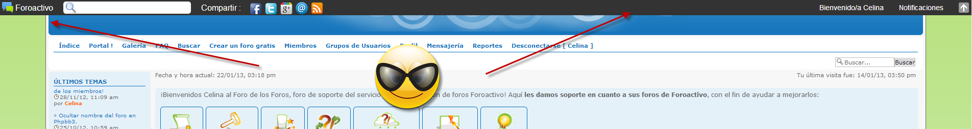 Toolbar y notificaciones : ¿Como funcionan? 40010
