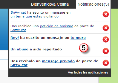 Toolbar y notificaciones : ¿Como funcionan? 90010
