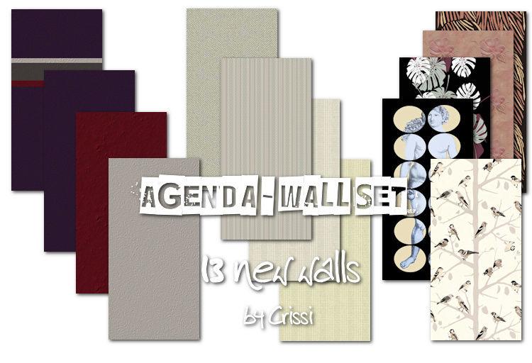 Agenda Wallset - 13 new walls Agenda11
