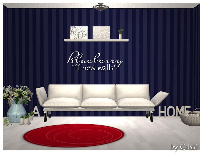 Blueberry Wallset Bluebe10