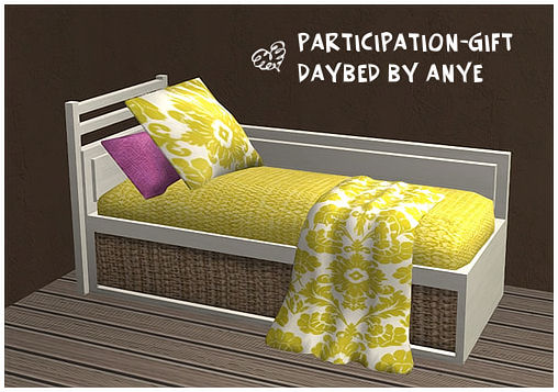 Daybed by Anye - Released Gift Db10