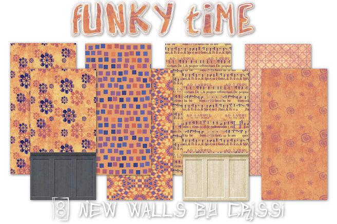 Funky Time - Wallset Funkyw10