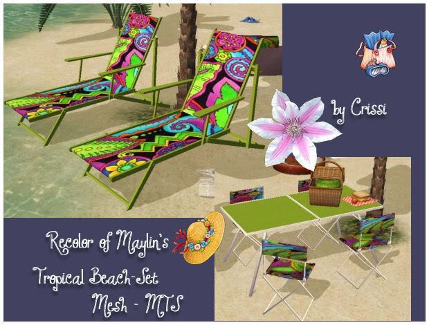 Maylin's tropical beach set-recolor Maylin10