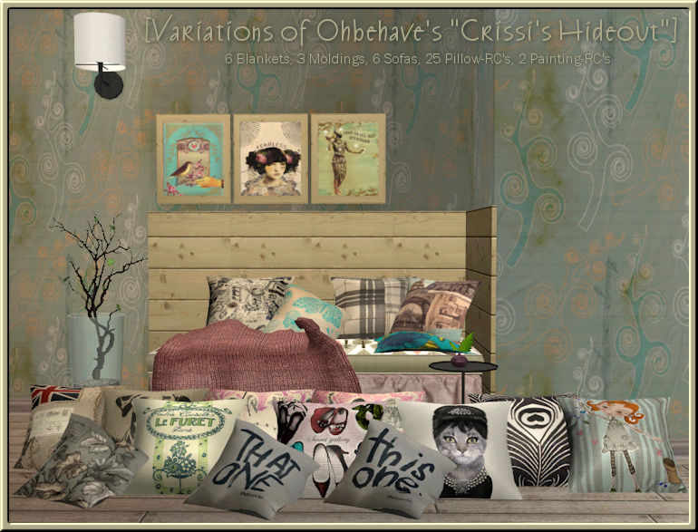 Variations of Ohbehave's *Crissi's Hideout* Ohbeha14