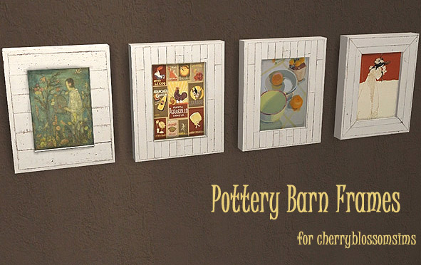 Pottery Barn Paintings - Released Gift Pbf10