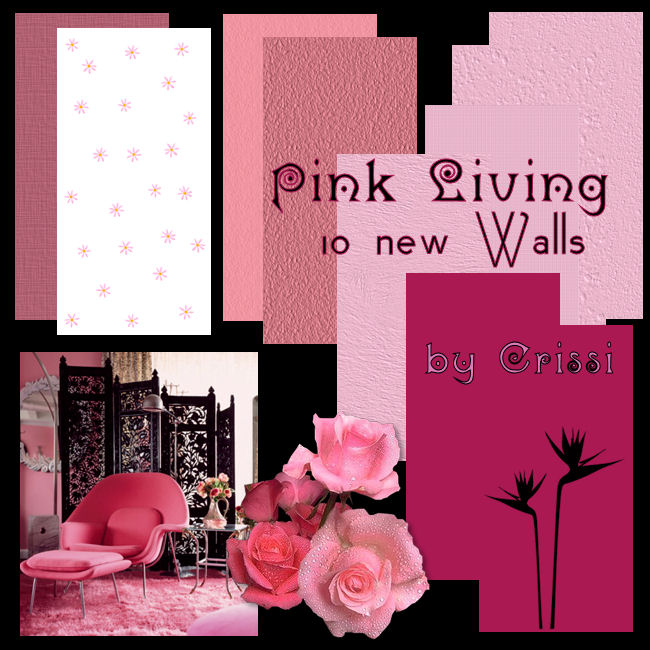Pink Living Walls Pinkli11