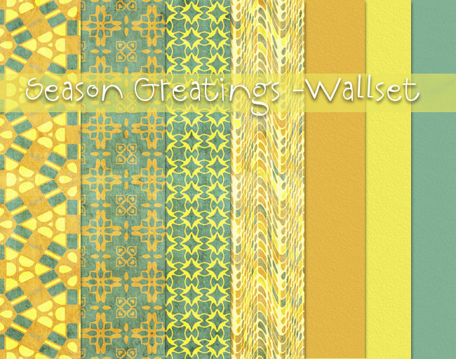 Season Greatings Wallset TS2 by Crissi Season10