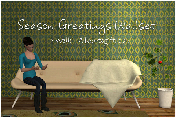 Season Greatings Wallset TS2 by Crissi Season11