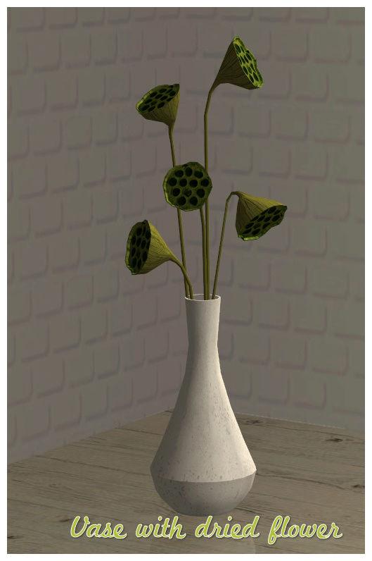Dried flowers Vase -  Mesh by N.A.N.U Vasedr10