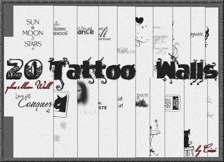Tattoo Wallset TS2 Wallsp10