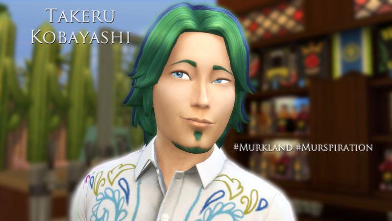 BG's Sims #BGsCreations  - Page 6 Takeru10
