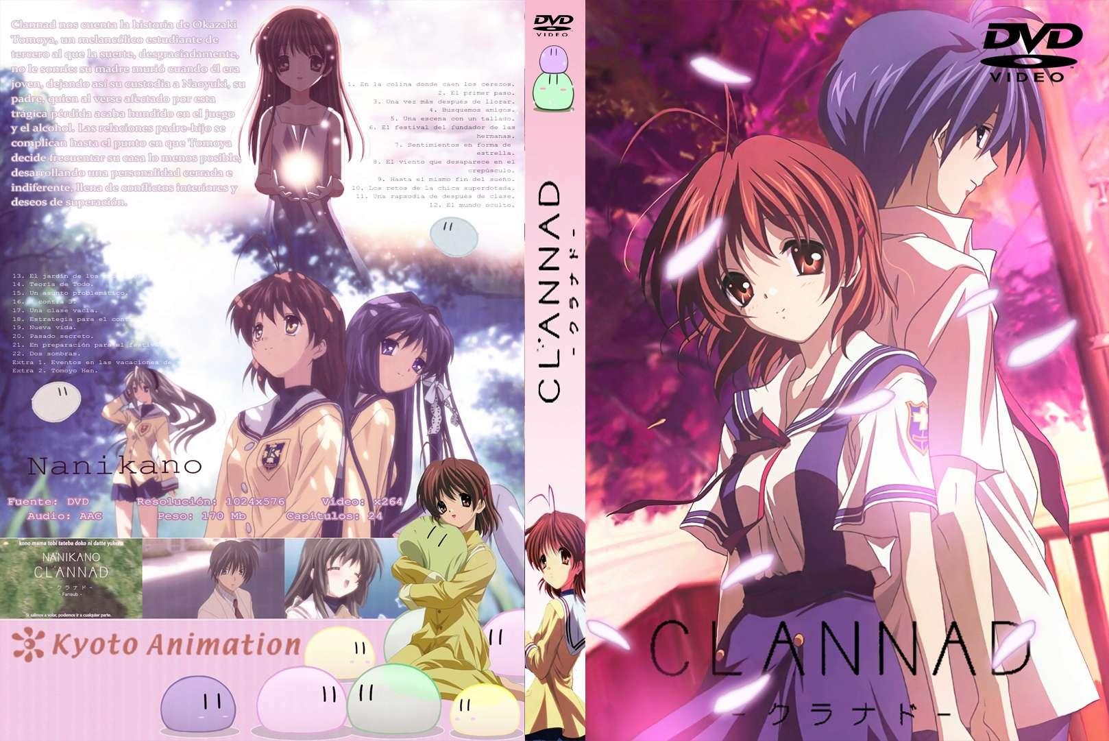 Caratula-COVER | Clannad en DVD COMPLETA Clanna10