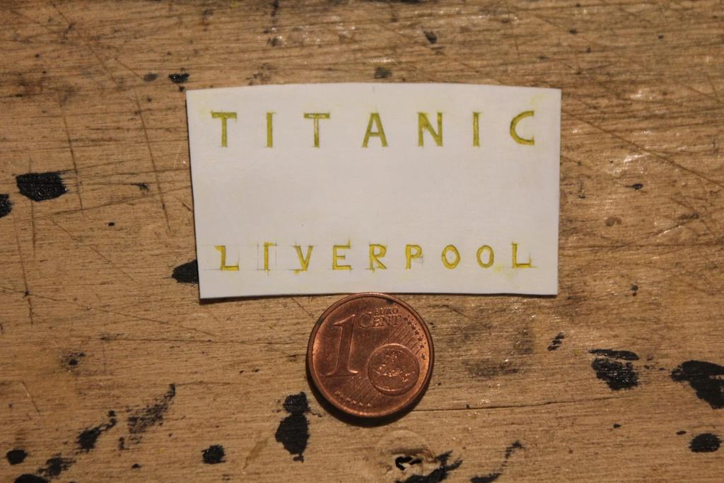 titanic - RMS Titanic 1:100 - Pagina 25 Img_0632
