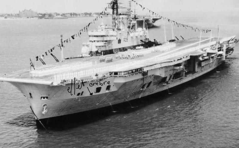 HMS ARK ROYAL. (91). 1/350.  MERIT 0110