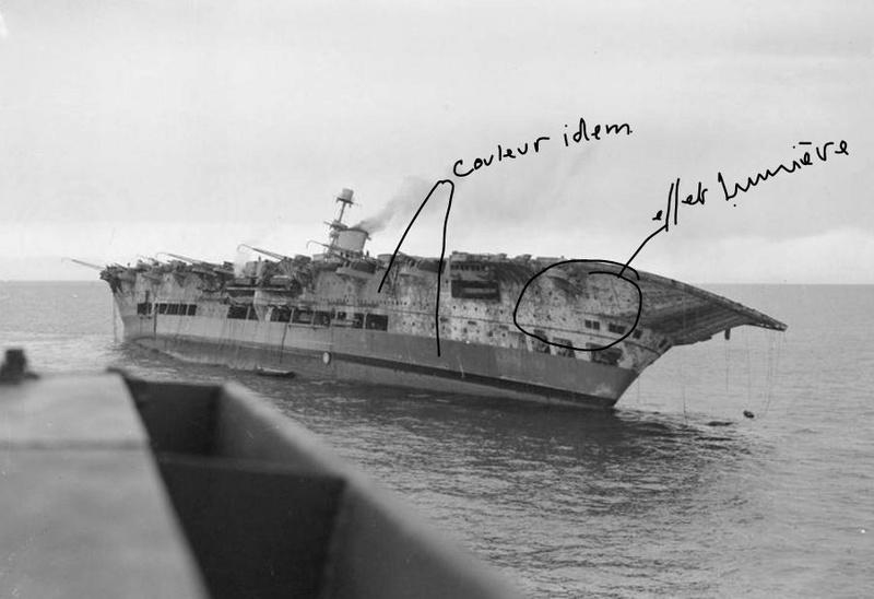 HMS ARK ROYAL. (91). 1/350.  MERIT 0410