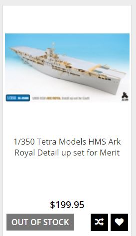 HMS ARK ROYAL. (91). 1/350.  MERIT - Page 2 Captur10