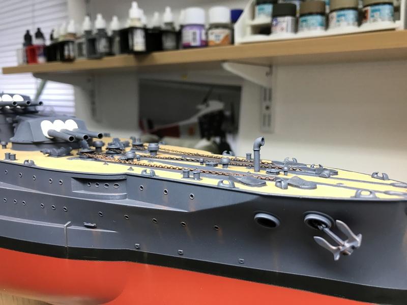 USS ARIZONA 1/200 TRUMPETER - Page 5 Img_4224