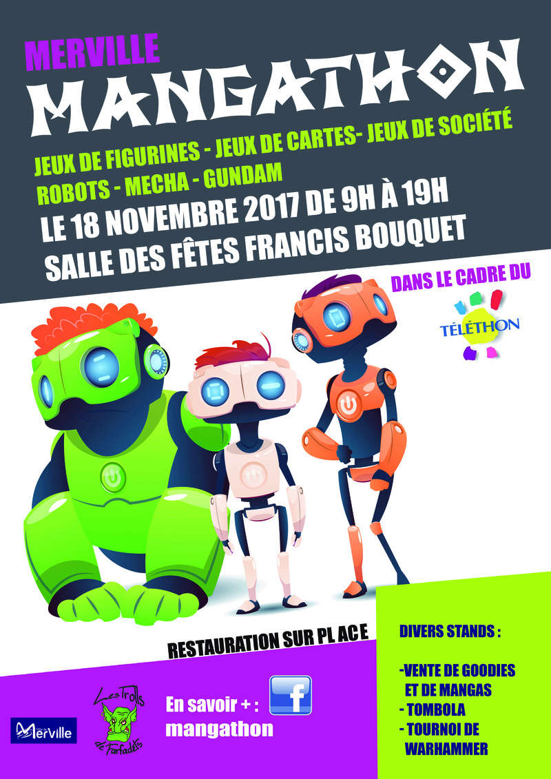Mangathon 2017 / 18/11/2017 / 59660 Merville (lot gundam) - Page 2 Affich10