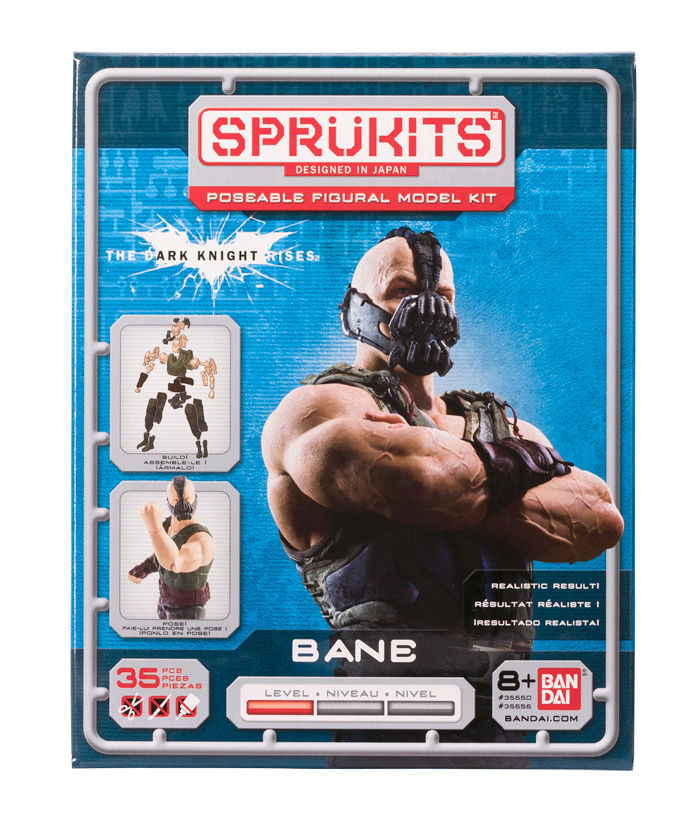The Dark Knight Rises BANE - Level 1 (Sprukits-Bandai) Bane-f10
