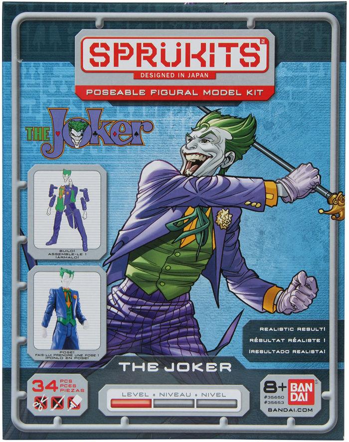 Original Comic The Joker - Level 1 (Sprukits-Bandai) Joker-16