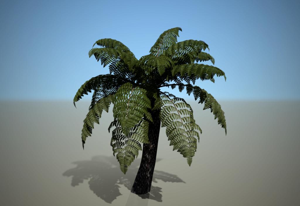 [ AUTRES LOGICIELS ]  SpeedTree  moteur de création d'arbres Fouger10