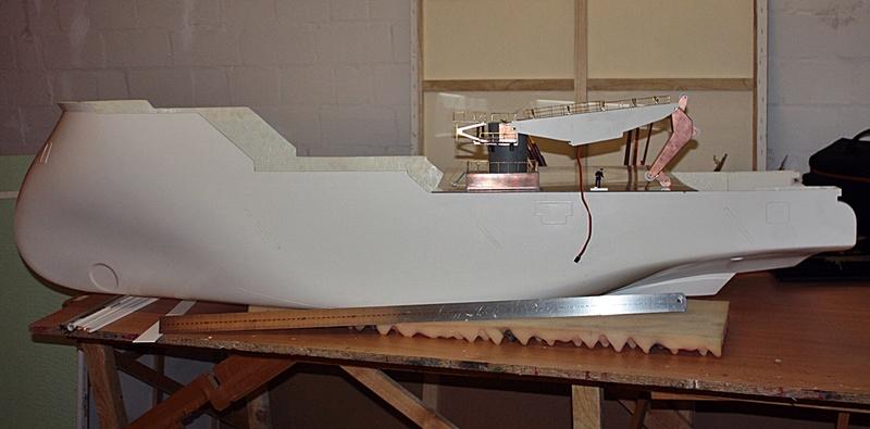 Bau eines X-Bow Schiffes in 1:50 12310