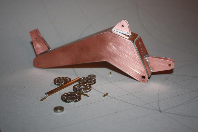 Bau eines X-Bow Schiffes in 1:50 Kran1b10