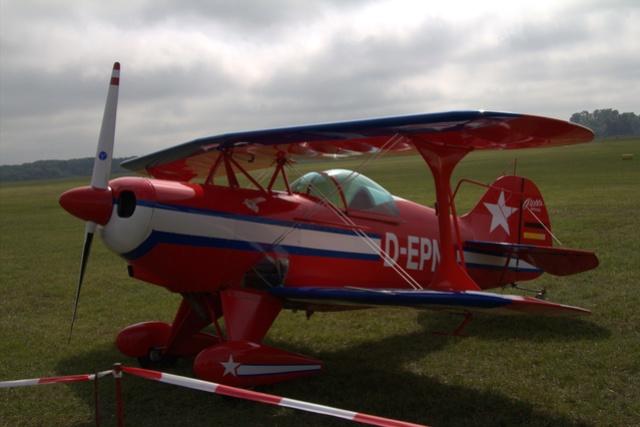 Flugtag auf dem Liliental Fluggelände in Speyer Lachendorf. A11