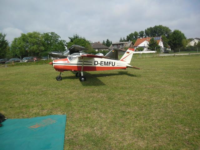 Flugtag auf dem Liliental Fluggelände in Speyer Lachendorf. Sam_4611