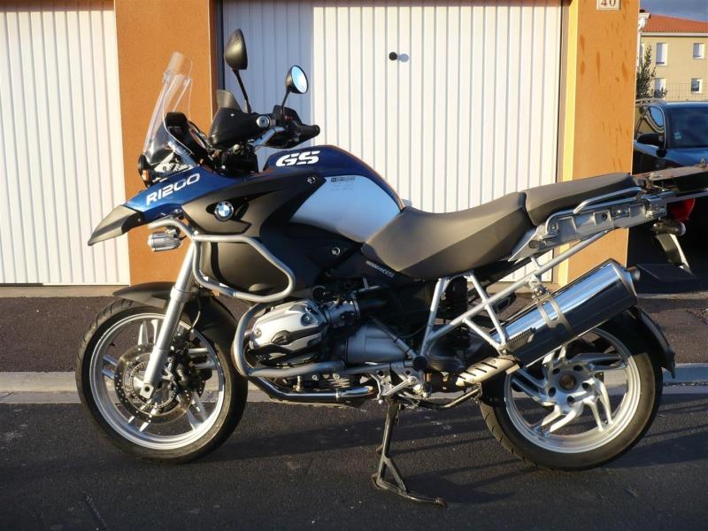 Ma nouvelle 1200 GS de 2007 P1090812