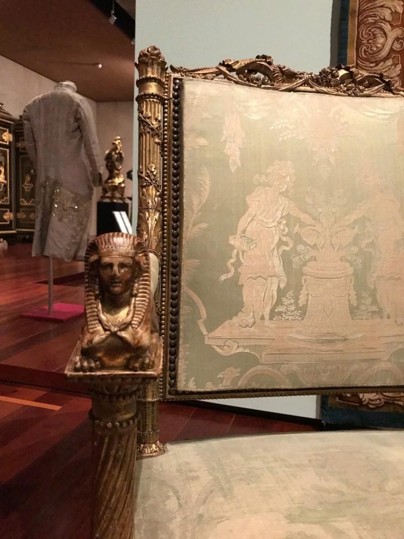 Le boudoir d'argent de Marie-Antoinette au château de Fontainebleau  Img_8211