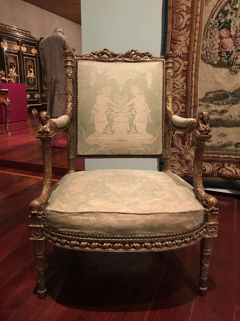 Le boudoir d'argent de Marie-Antoinette au château de Fontainebleau  Img_8212