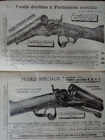 un vieux fusil de chasse acier lebel Img_2013