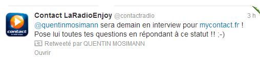 (07/02/2013)  contact La radio enjoy  Facebo49