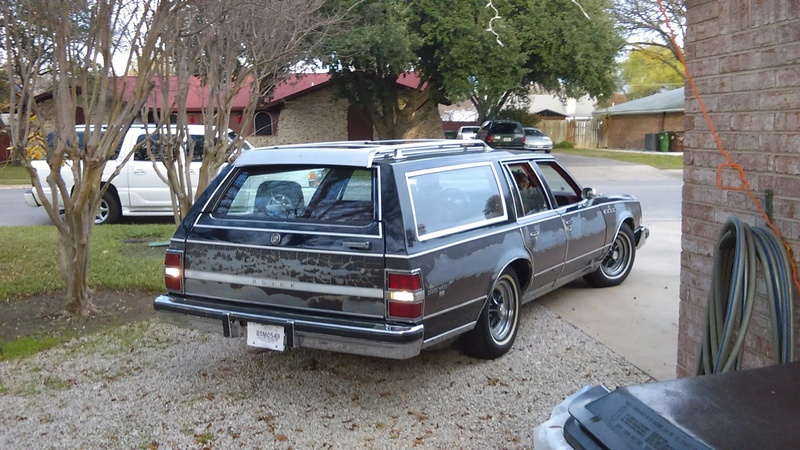 New Father-Son Project Car, 1978 Electra Estate Wagon 10522010