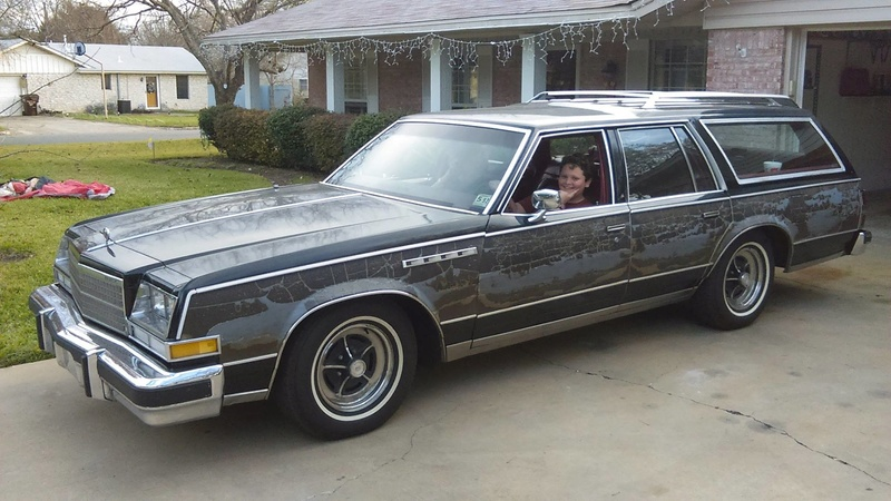 New Father-Son Project Car, 1978 Electra Estate Wagon 10582810