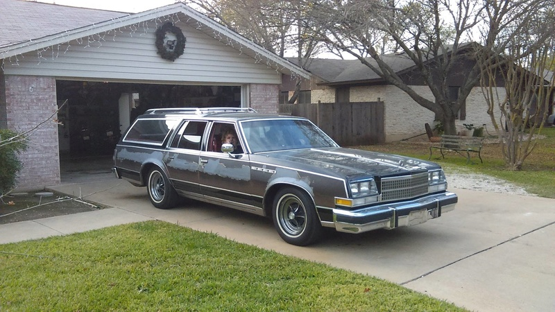 New Father-Son Project Car, 1978 Electra Estate Wagon 10856610