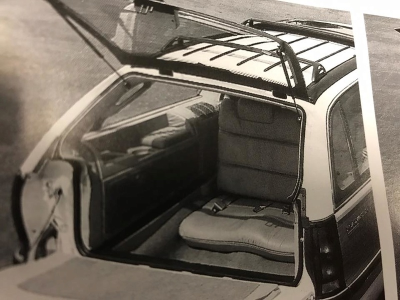 """GM Prototype Roadmaster """"Limied"""" 3rd-row seat option! 20246410"""