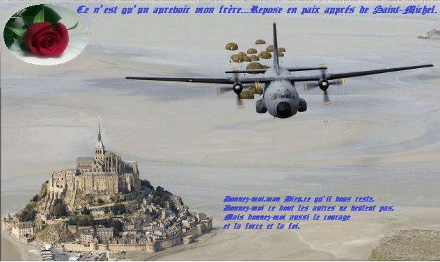 Pierre Tiberkane arrivé en Indochine en mars 1954, il vient d'avoir 19 ans, Parachutiste il est affecté au 8° B.P.C qui combat à Diên Biên Phu. IL se porte volontaire pour rejoindre son unité et saute de nuit le 8 avril 1954. Communiqué  Lucien PIERS. Ce_n_e11