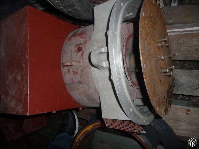 génératrice mecc alte 31.5 kva controlée Altern12