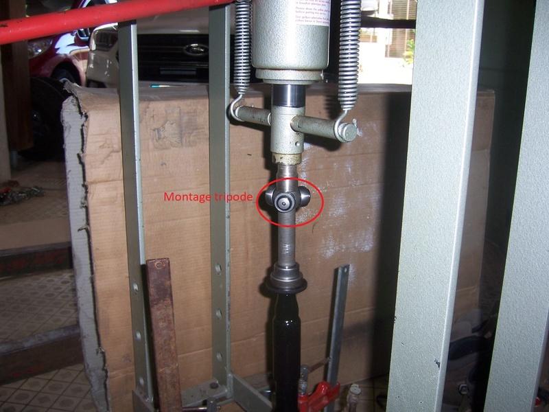 Modification allongement  transmission cardan Gauche. 100_7321